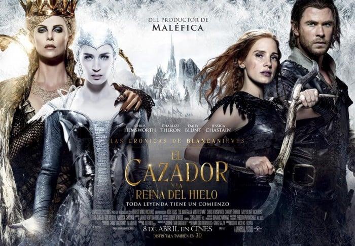 Crítica de 'Las crónicas de Blancanieves: El cazador y la reina del hielo'