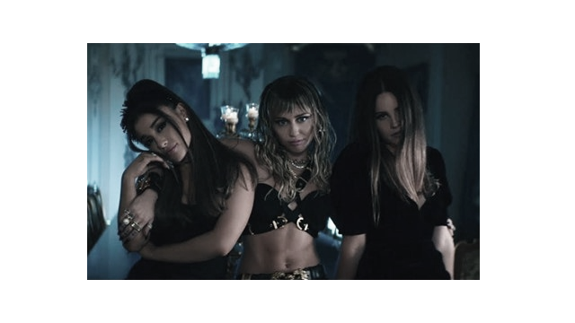 """Ariana Grande, Miley Cyrus y Lana del Rey se unen en """"Don't Call Me Angel"""""""