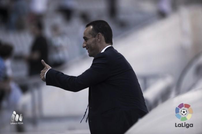 """Oltra: """"Ha habido fútbol, actitud, ocasiones y es momento de disfrutar de la victoria"""""""