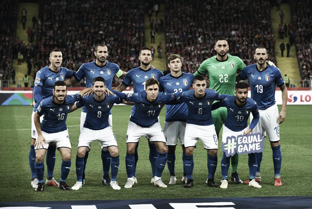Italia logra la victoria sobre la hora