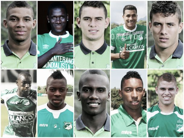 La selección Colombia se pinta de verde