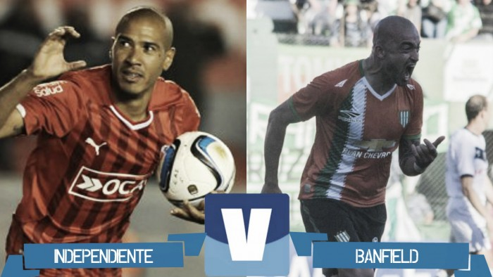 Partido Independiente - Banfield por el Torneo de Primera División