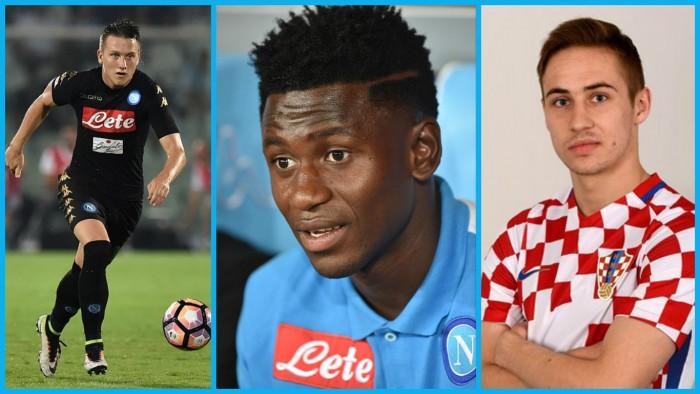 Napoli, goditi la meglio gioventù: Rog, Zielinski e Diawara sono pronti