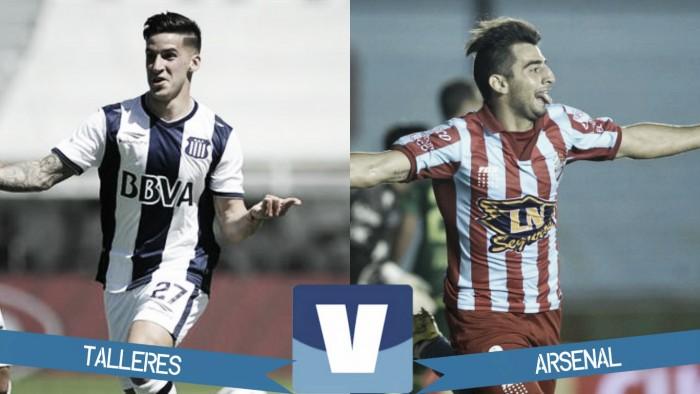 Resultado de Talleres de Córdoba y Arsenal por el Torneo de la Independiencia 2016 (0-0)