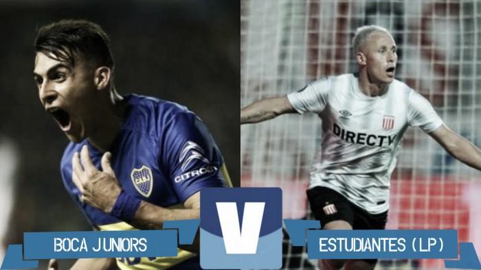 Partido Boca Juniors vs Estudiantes de La Plata en Torneo Verano 2017