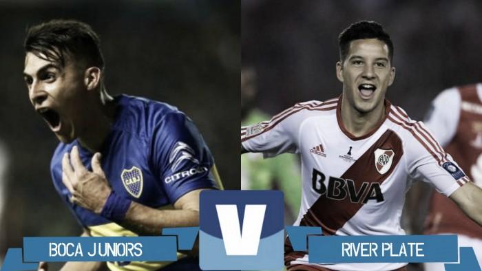 Resultado partido Boca vs River por Copa Luis Nofal 2017 (0-2)