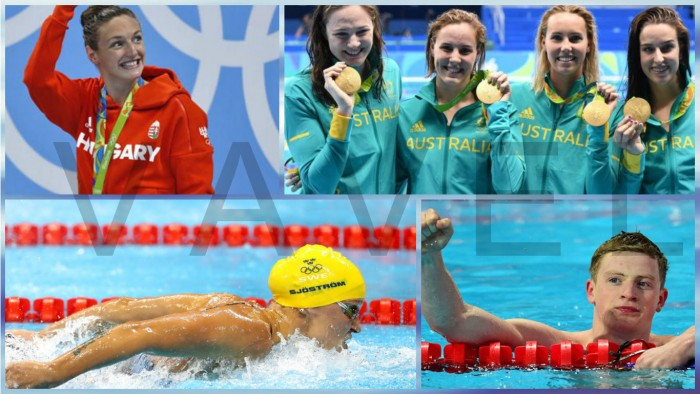 Nuevos records olímpicos en natación