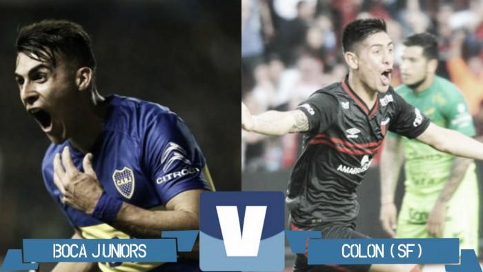 Resumen Boca Juniors 4-1 Colón de Santa Fe en la Liga Argentina 2016