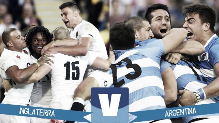 Partido Los Pumas Argentina vs Inglaterra desdeTwickenham