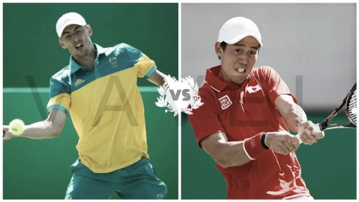 Tenis olímpico, segunda ronda: Millman vs Nishikori