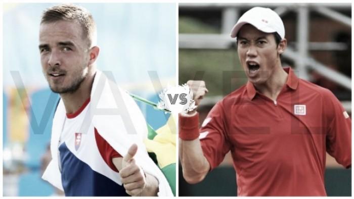 Tenis olímpico, tercera ronda: Nishikori vs Martin