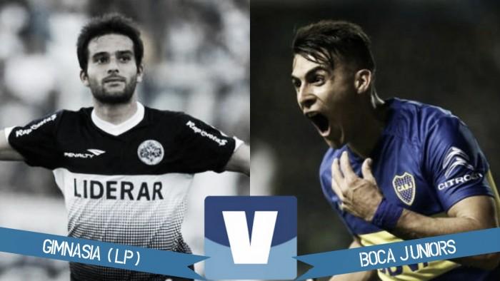 Gimnasia 0 - Boca Juniors 3: Boca se prendió