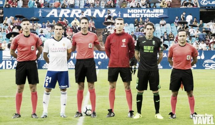 Fotos e imágenes del Real Zaragoza 1 - 1 Granada, jornada 2 de Segunda División