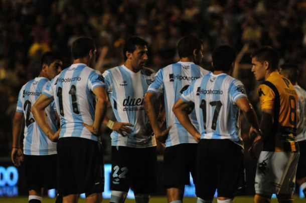 Racing - San Martín de San Juan: último partido de prueba