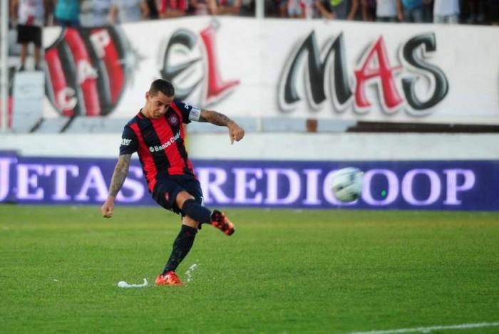 San Lorenzo empató con Patronato en el inicio del campeonato