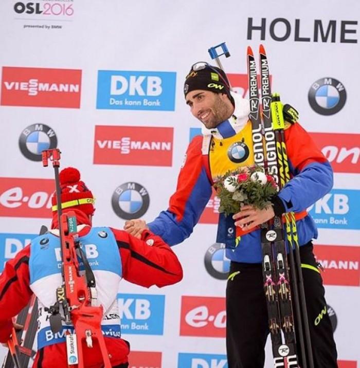 Mondiali Oslo: Martin Fourcade si prende oro e Coppa del Mondo, altro argento per Bjoerndalen