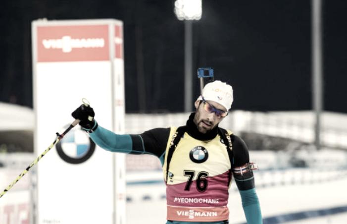 Biathlon - Inseguimento maschile PyeongChang: Martin Fourcade sempre più nella storia