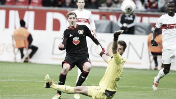 No sufoco, Bayer Leverkusen vence o Stuttgart e reencontra a vitória na Bundesliga