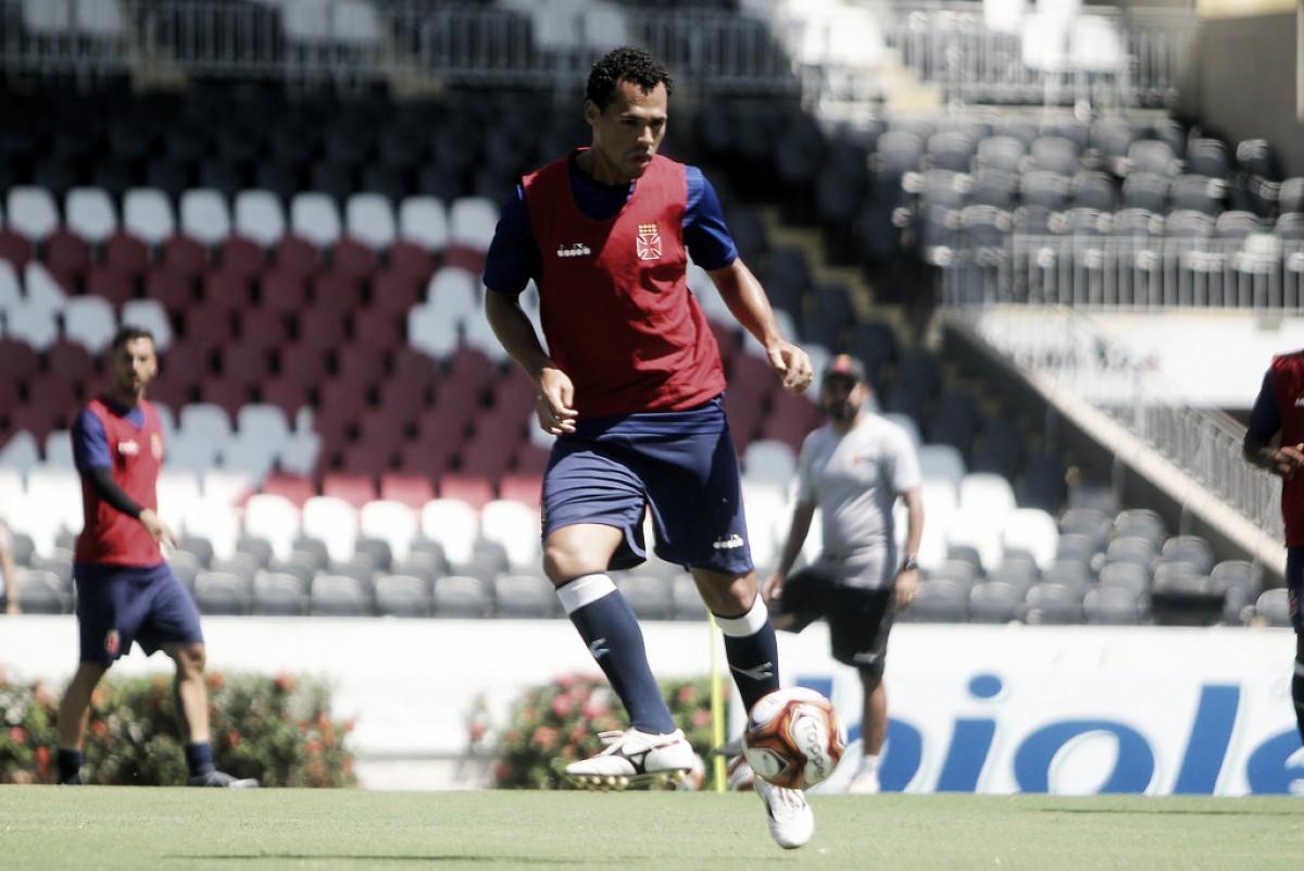 """Recém chegado, volante Bruno Silva se diz feliz no Vasco: """"É um sonho sendo realizado"""""""