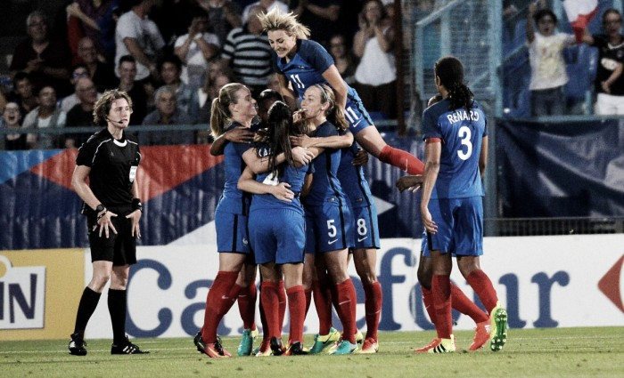 France 1-0 Canada: Abily stunner wins it for the hosts