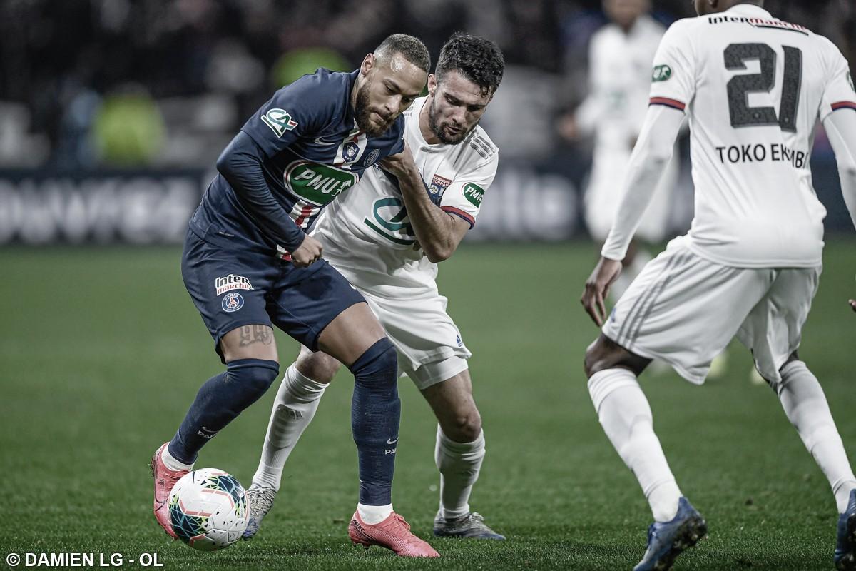 PSG enfrenta Lyon na decisão da Copa da Liga Francesa em busca da tríplice coroa