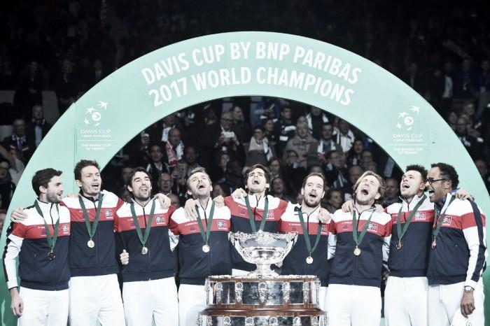 Davis Cup, finalmente la Decima della Francia