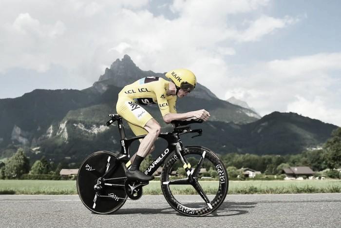 Tour de France, Froome vince la cronoscalata di Mègeve. Bene Aru e Porte
