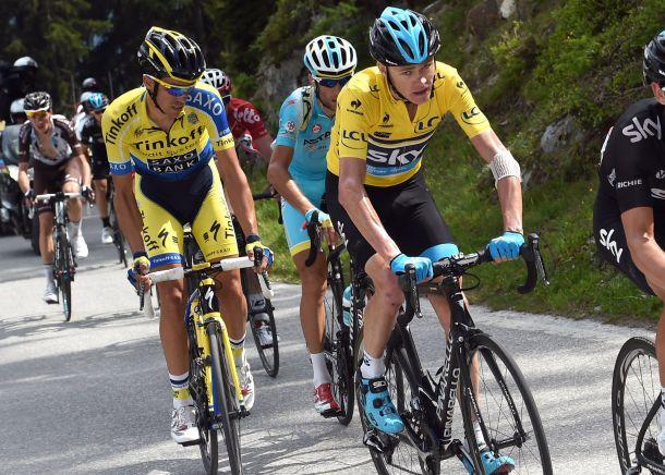 Tour de France 2015: a La Pierre Saint Martin assolo di Froome, crolla Nibali, in ritardo Quintana e Contador