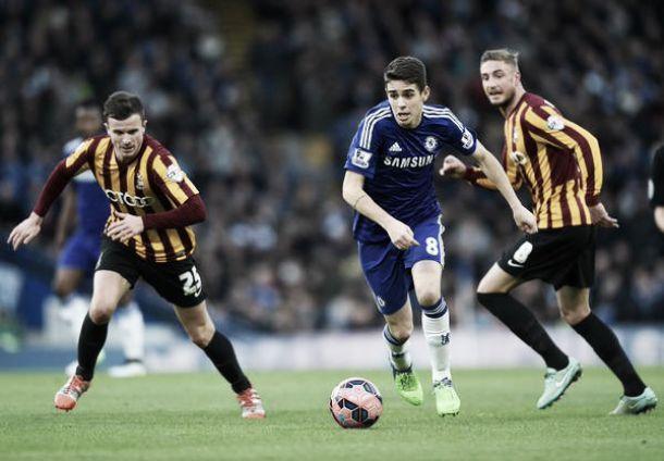 Les buts de Chelsea - Bradford City