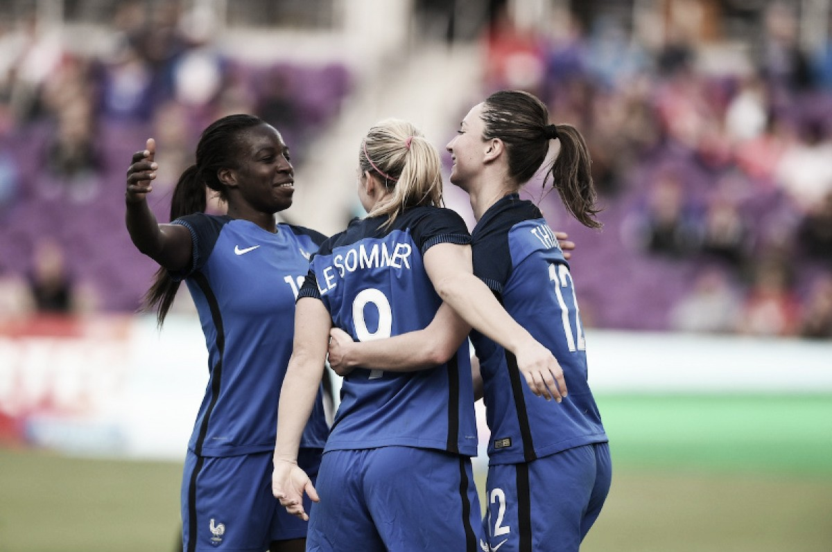 SheBelieves Cup 2018: France romp to a final match victory over Germany