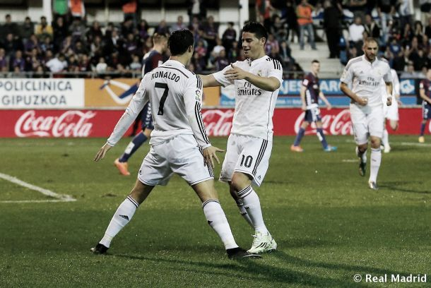 Les buts de Eibar-Real Madrid