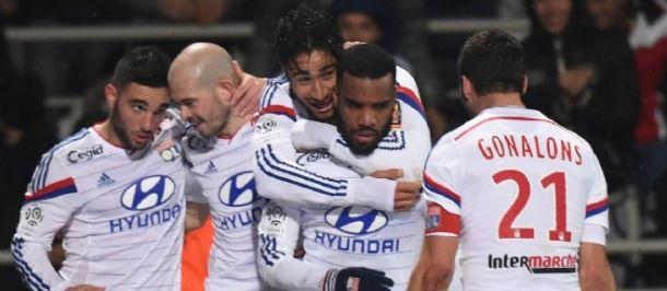 Les buts de Lyon-Reims