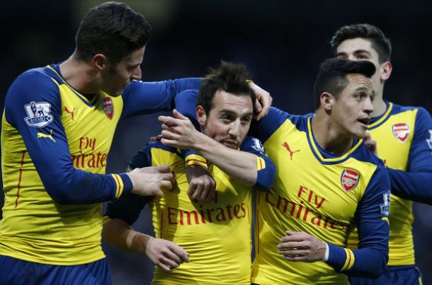 Les buts de Manchester City - Arsenal