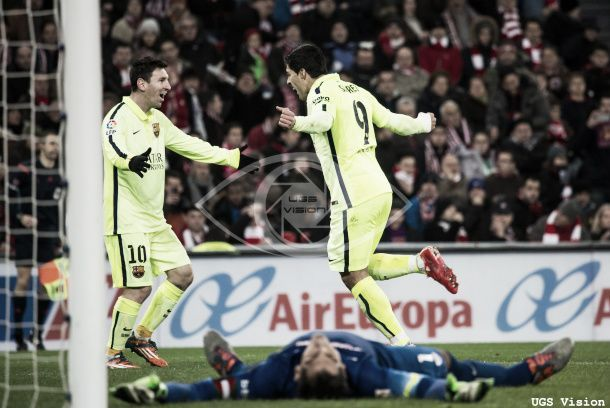 Les buts de Athletic Bilbao - Barcelone