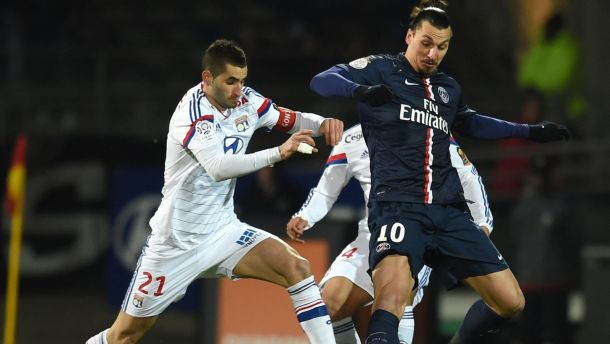 Les buts de Lyon - PSG
