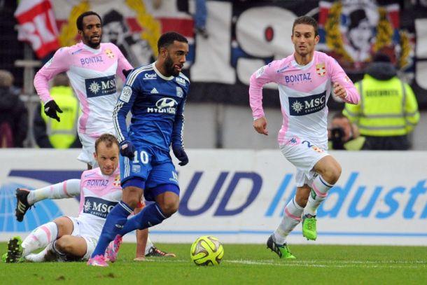 Les buts de Evian-Lyon