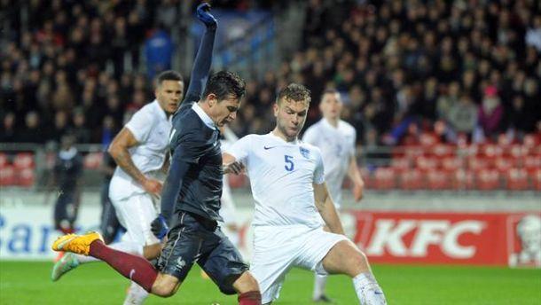 Les buts de France vs Angleterre Espoirs