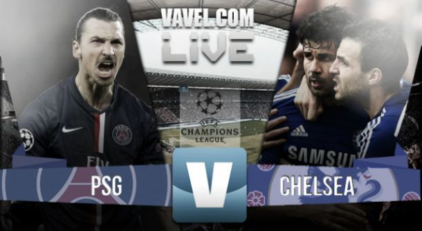 Live Champions League: Paris Saint-Germain - Chelsea en direct (1-1)