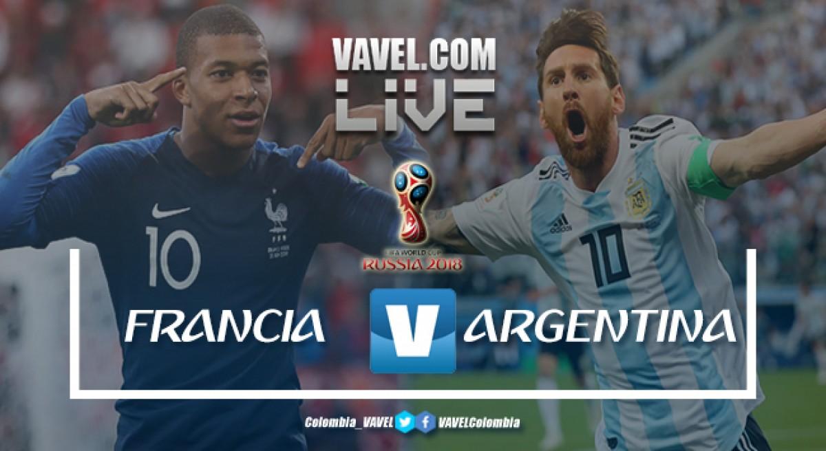 Resumen Francia vs Argentina (4-3) por el mundial de Rusia 2018