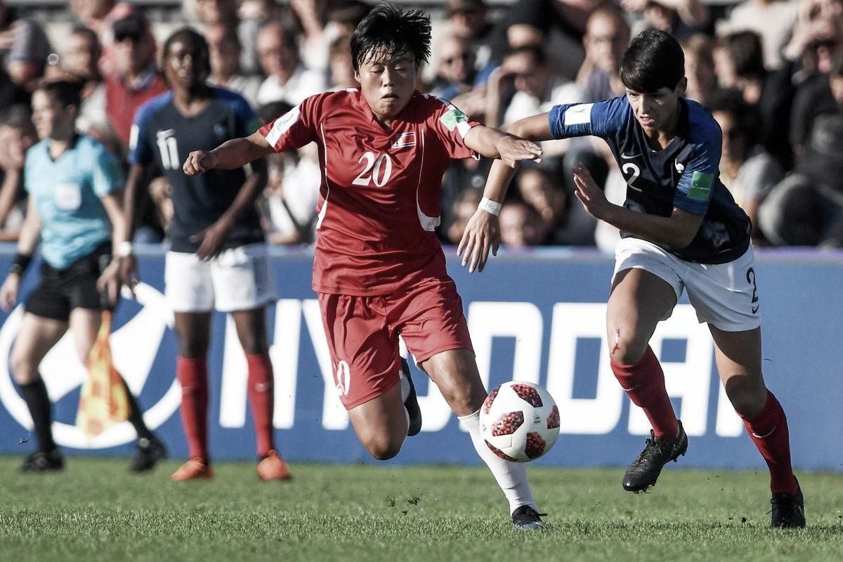 Las anfitrionas vencieron a Corea y avanzaron a las semifinales del Mundial Sub-20 femenil