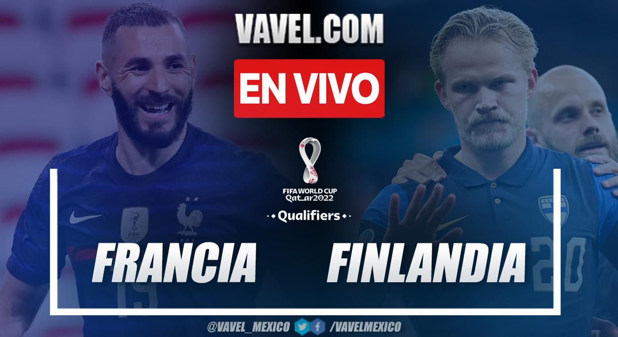 Resumen y goles: Francia 2-0 Finlandia por eliminatorias 2022