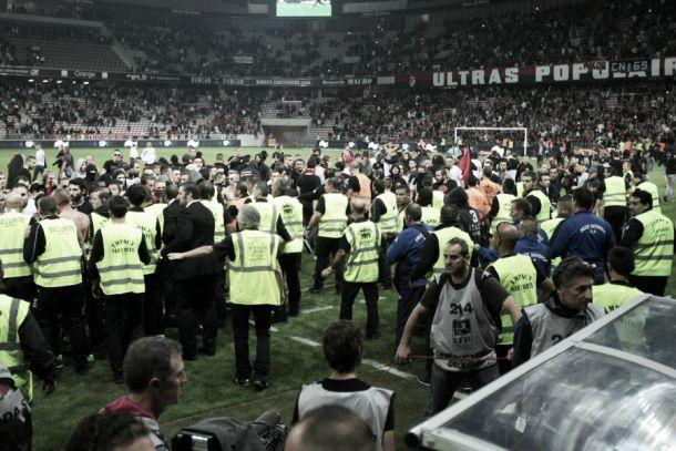 Incidents OGC Nice - SC Bastia, à qui la faute ?
