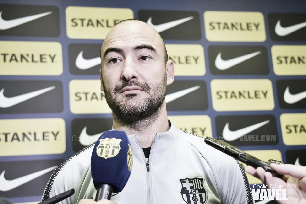 """Fran Sánchez: """"No queremos conformarnos"""""""