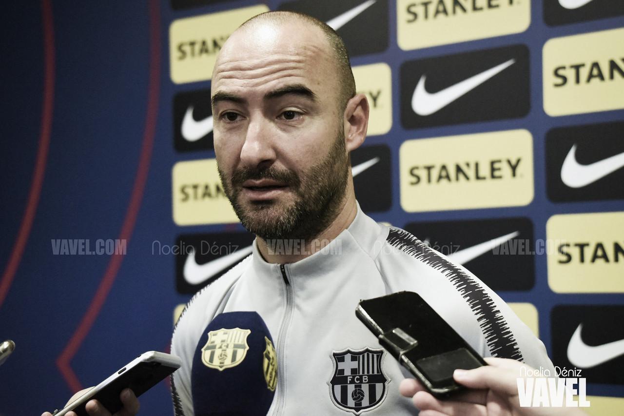 """Fran Sánchez: """"No será un partido fácil en ese campo"""""""