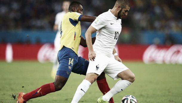 Equador empata com a França e está eliminado da Copa do Mundo