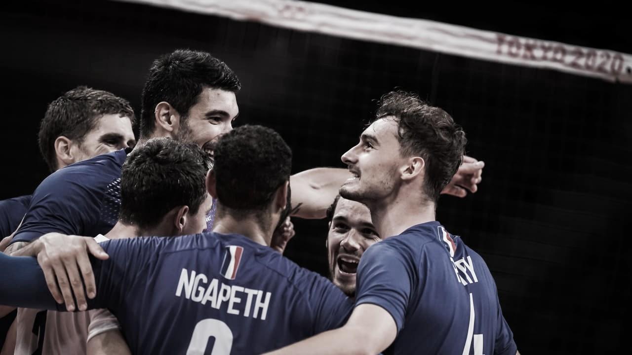 França vence russos no tiebreak e conquista ouro inédito no vôlei masculino