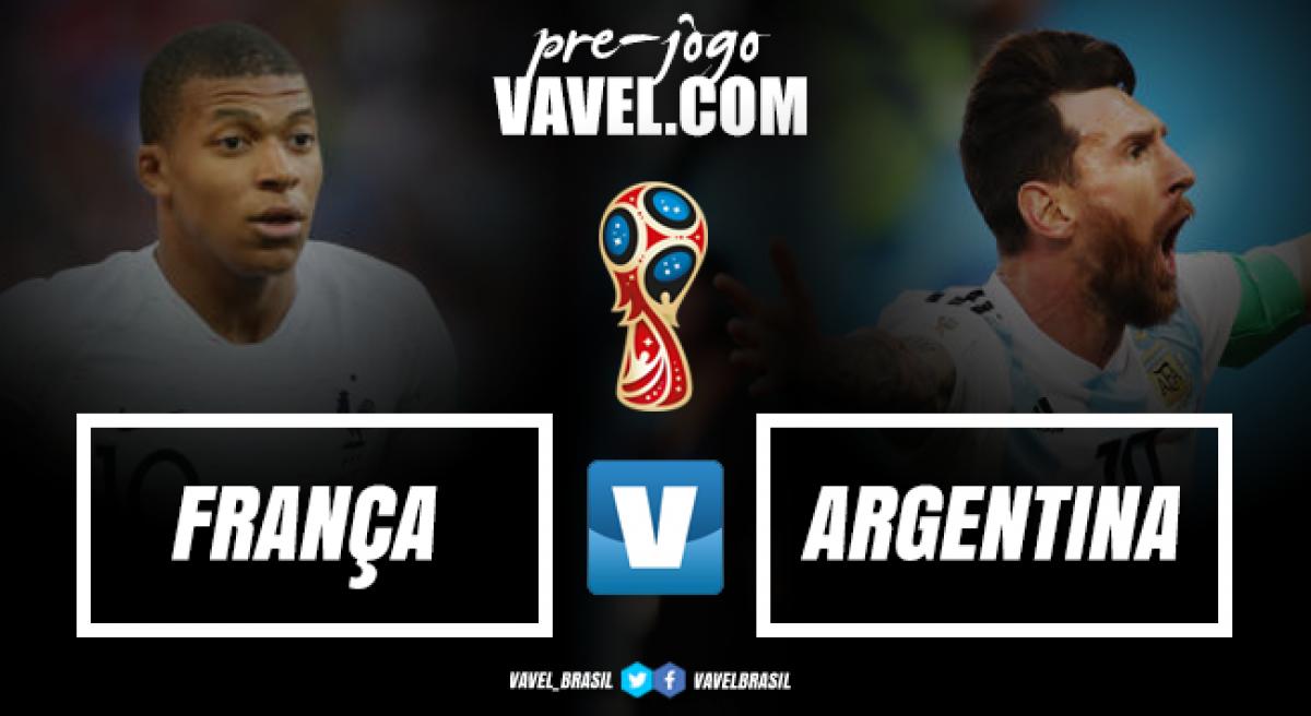 Primeiro duelo de campeãs: França e Argentina abrem oitavas de final da Copa do Mundo