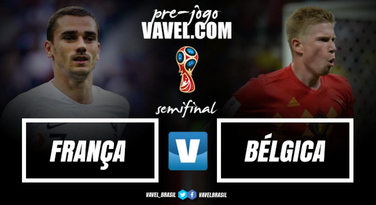 Sobreviventes em chave complicada, França e Bélgica decidem primeiro finalista da Copa