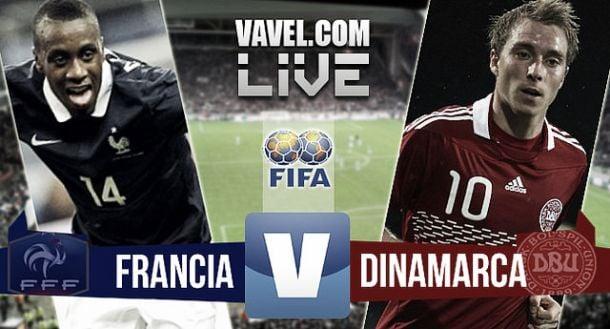 Francia vs Dinamarca en vivo y en directo online 2015 (2-0)