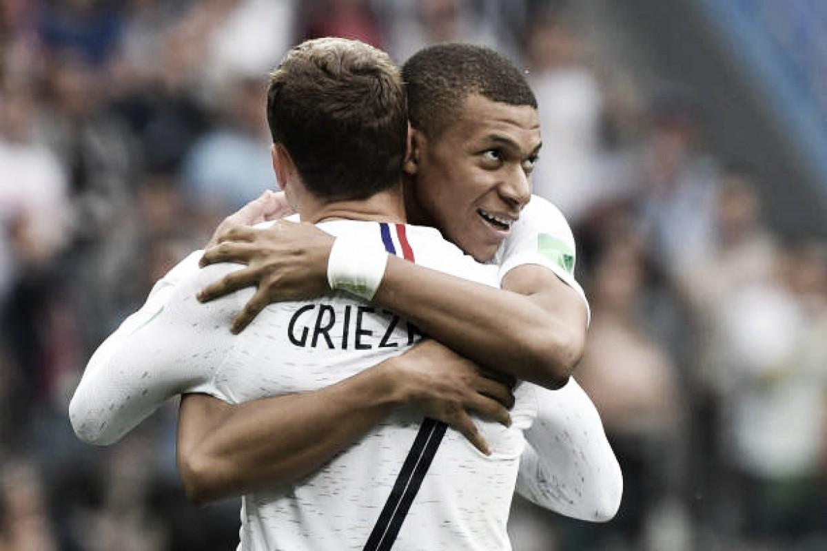 Jovem geração da França corresponde às expectativas levando seleção para semifinal